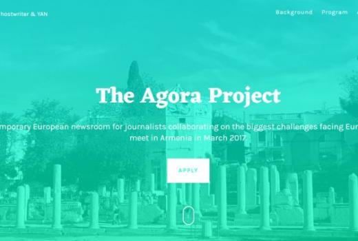 Projekat Agora: Radionica za mlade novinare
