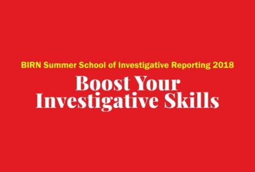 BIRN: Ljetna škola istraživačkog novinarstva
