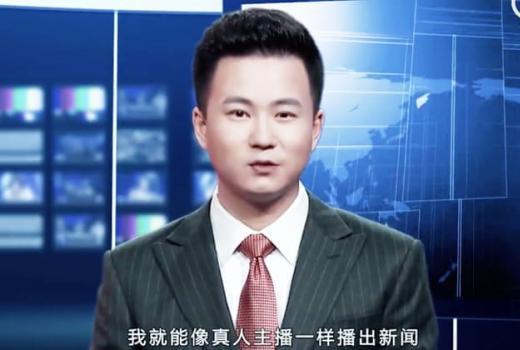 U Kini predstavljen robotski TV voditelj