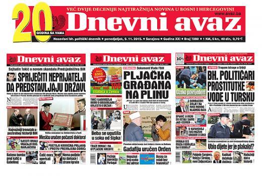 Novina protiv novinara