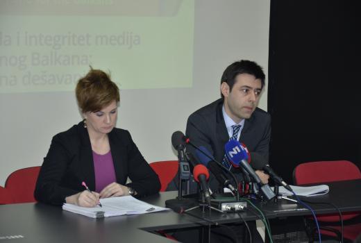 """Predstavljen izvještaj """"Sloboda i integritet medija na Balkanu"""""""