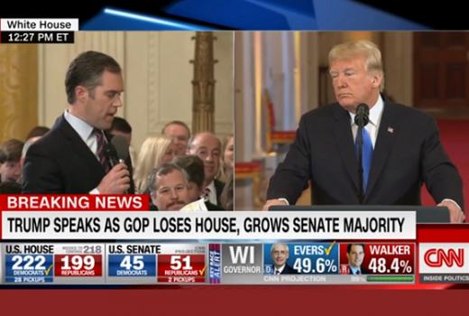 Bijela kuća suspendovala akreditaciju novinaru CNN-a