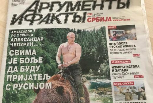 Ruske desničarske novine pokrenule srbijanska izdanja