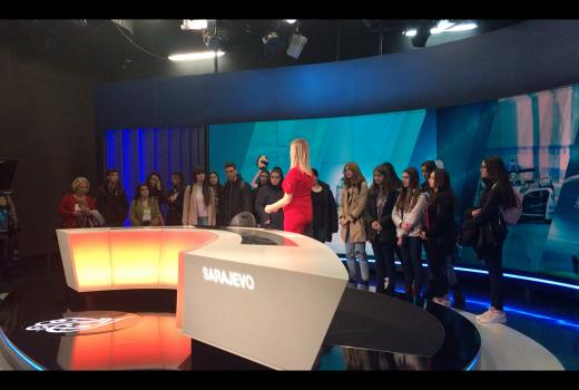 Posjeta Al Jazeeri Balkans: Gimnazijalci učili o radu redakcije i slobodi u društvu