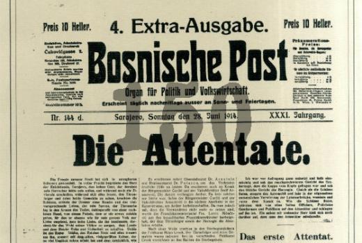 Bosnische Post: Die Attentate.