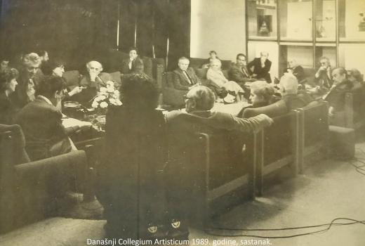 Collegium Artisticum i dvije slike Sarajeva