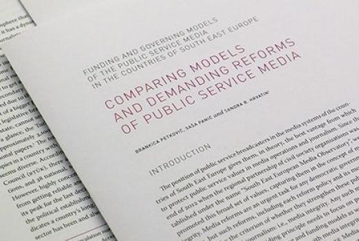 Modeli i reforme javnih medijskih servisa u jugoistočnoj Europi
