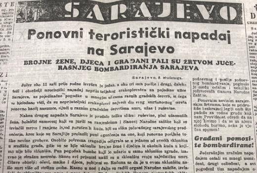 Bombe u Sarajevu