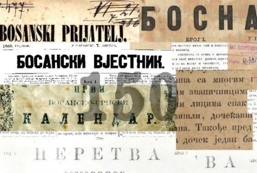Naslovnice prvih novina: Osmanski period