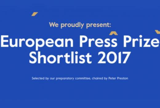 CINS nominovan za nagradu za istraživačko novinarstvo European Press Prize