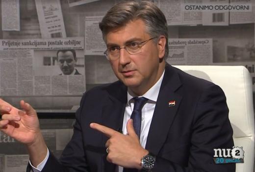 Kritike za premijera Hrvatske zbog optužbe upućene novinarki HRT-a
