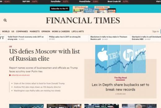 Financial Times daje besplatan pristup srednjoškolcima iz cijelog svijeta