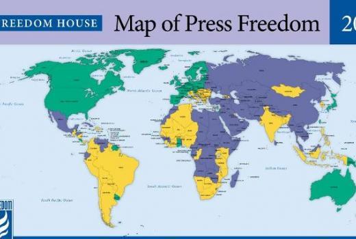 Najmanji stupanj medijskih sloboda u posljednjoj deceniji