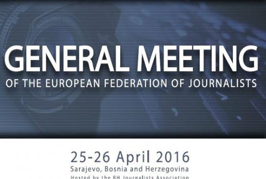 Godišnji sastanak EFJ-a danas i sutra u Sarajevu