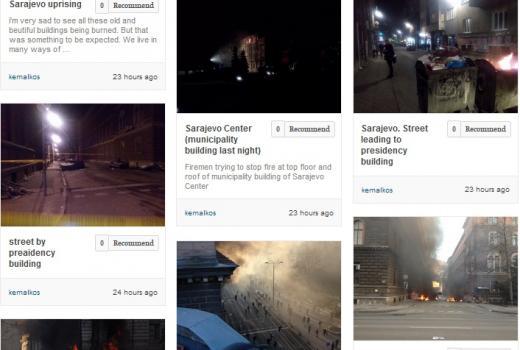 Guardian Witness prenosi fotografije učesnika protesta