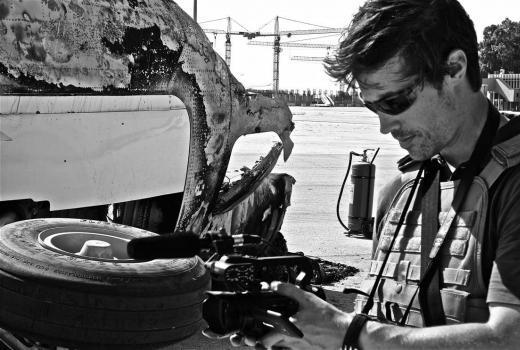 Slideshow u čast novinara ubijenih u 2014.