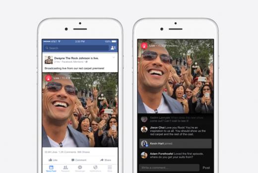 Facebook: Video prenos uživo uskoro dostupan i medijskim kućama