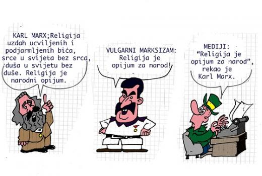 Karikatura: Medijska redukcija
