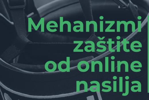 """Priručnik """"Mehanizmi zaštite od online nasilja"""""""