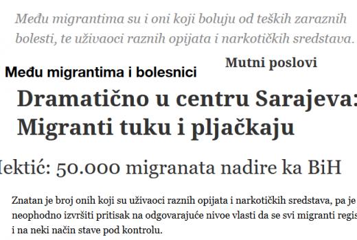Mediji pomažu institucijama širiti ksenofobiju prema izbjeglicama i migrantima