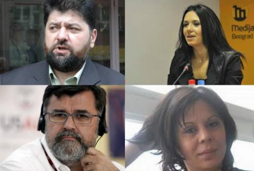 Novinari su 'glineni golubovi'