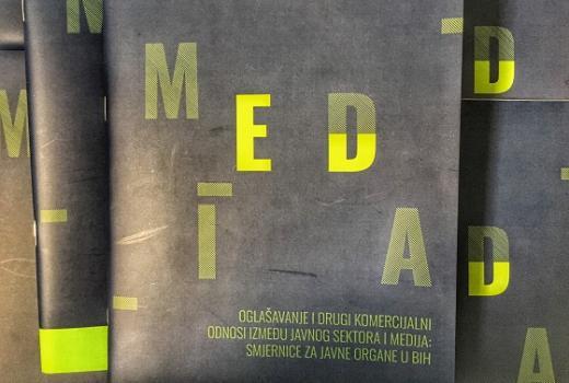 Oglašavanje i drugi komercijalni odnosi između javnog sektora i medija: smjernice za javne organe u BiH