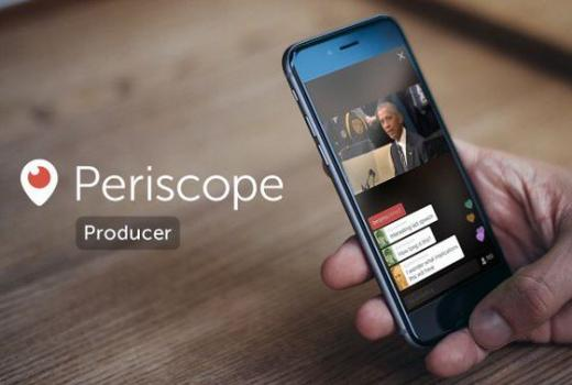 Twitter: Periscope od sada i za profesionalno snimljeni video