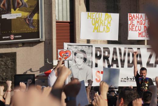 Medijsko ubistvo Davida Dragičevića