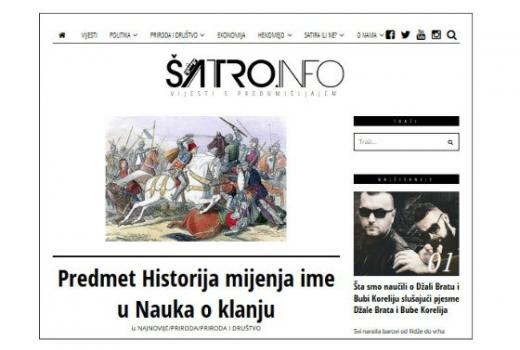 Satirični portali u BiH: Ismijavanjem do reakcije