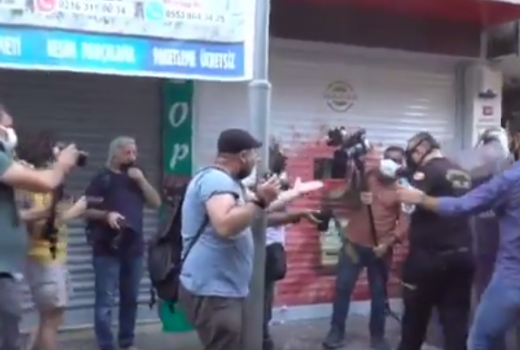 Više od 20 novinara i fotoreportera povrijeđeno tokom izvještavanja sa protesta u Turskoj