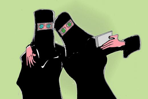 Karikatura: Društvo i tehnologija (2)