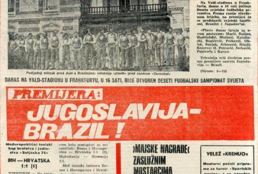Svjetsko prvenstvo iz arhiva Infobiroa