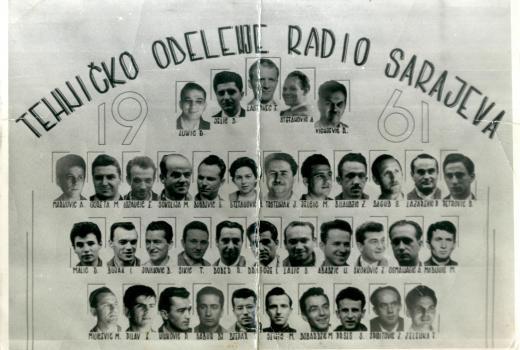 tehnicki odjel radio sarajevo