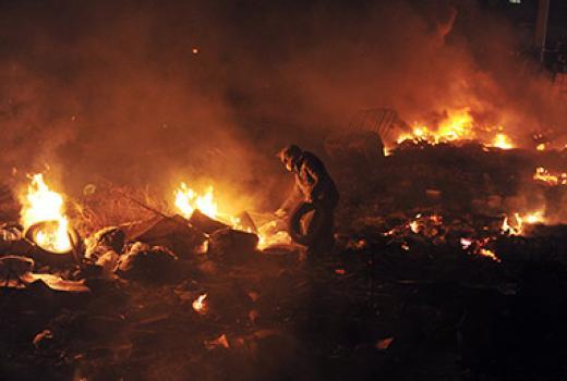 Kijev: novinari na meti napada