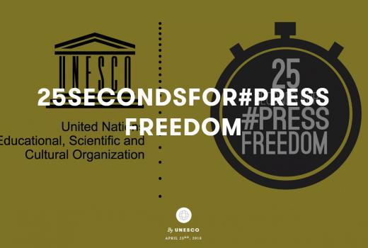 UNESCO: 25 sekundi za slobodu medija