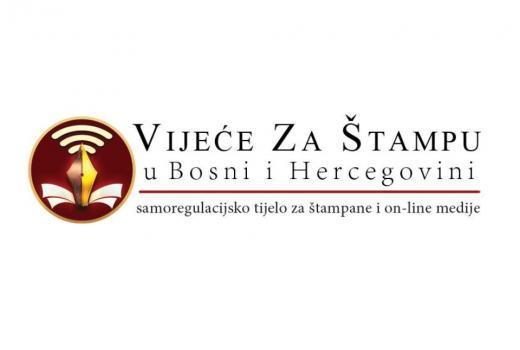 VZS izražava ozbiljnu zabrinutost zbog učestalih napada na novinare u BiH