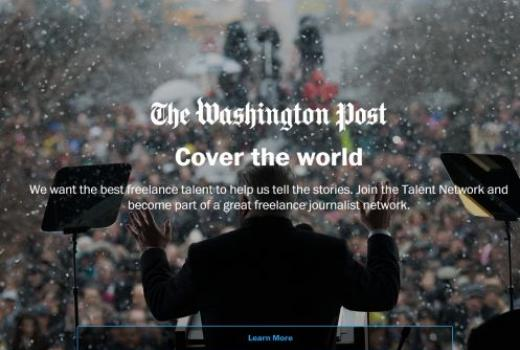The Washington Post pokrenuo novu mrežu za freelance novinare