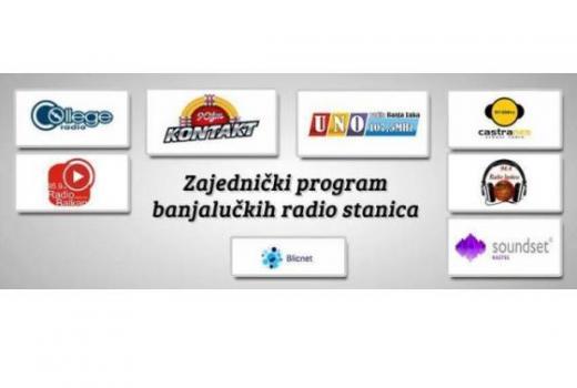 Zajednički program banjalučkih radio stanica