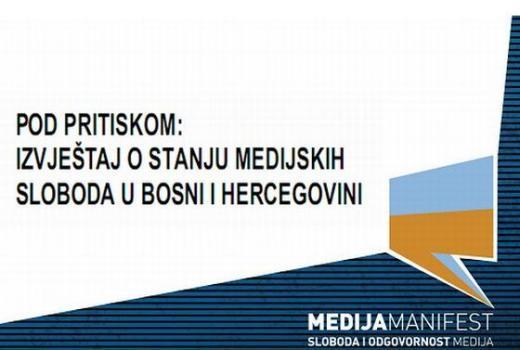 Pod pritiskom: Izvještaj o stanju medijskih sloboda u BiH