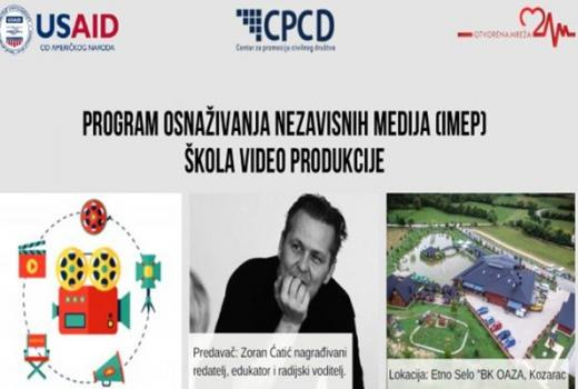 IMEP škola video produkcije