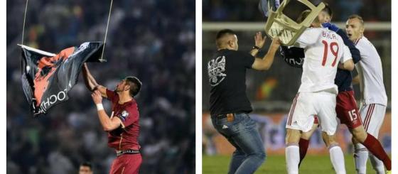 Kako su mediji u Beogradu te Tirani i Prištini izvijestili o prekinutoj fudbalskoj utakmici?