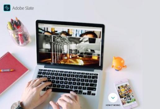Adobe Slate: Jednostavno kreiranje vizualnih priča