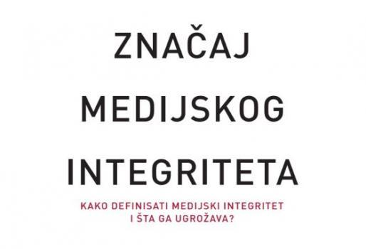Brošure o značaju medijskog integriteta