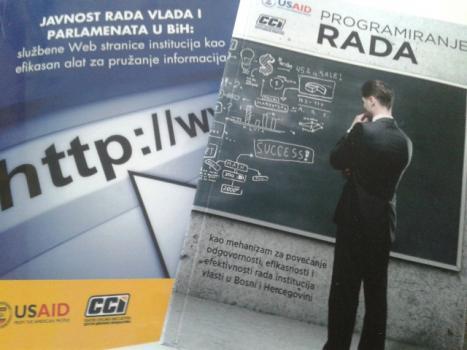 CCI: Efikasnost službenih web stranica BiH institucija