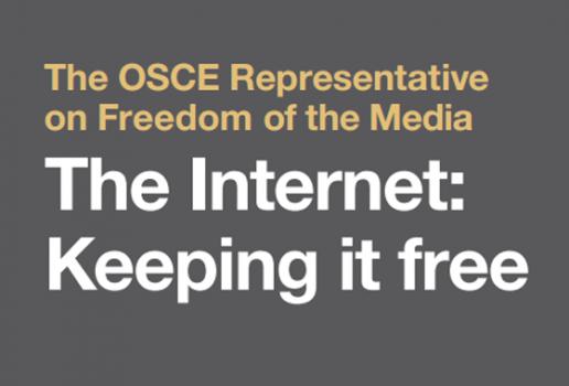 "OSCE: Priručnik ""The Internet: Keeping it Free"""