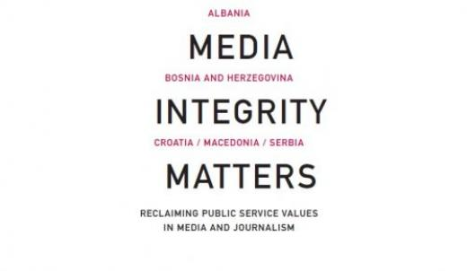 MEDIA in tegrity matters: reclaiming public service values in media and journalism