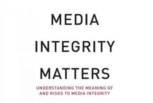"Brochures ""Understanding the Meaning of and Risks to Media Integrity"""