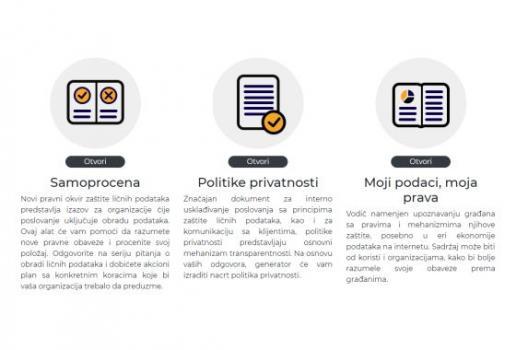 Pribor za samoprocjenu i izradu politika privatnosti