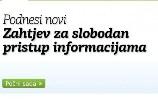 PravoDaZnam: Zahtjevi za slobodan pristup informacijama