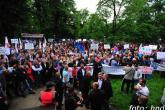 Tri napada na novinare tokom protesta u Banjoj Luci